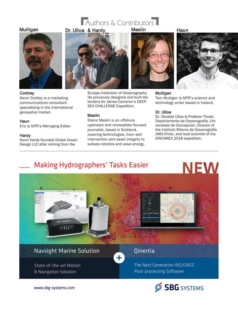 Marine Technology Magazine, page 5,  Apr 2018