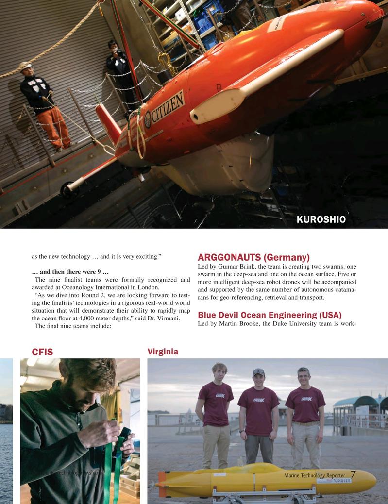Marine Technology Magazine April 2018, 7 page
