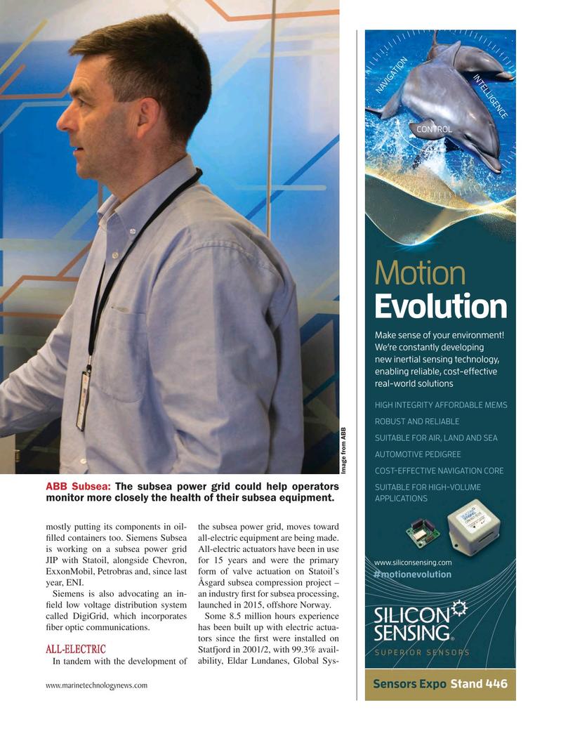 Marine Technology Magazine, page 25,  May 2018