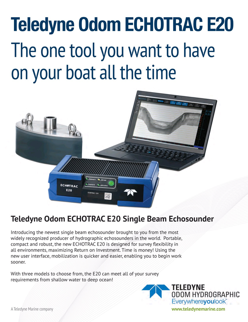 Marine Technology Magazine, page 1,  May 2018
