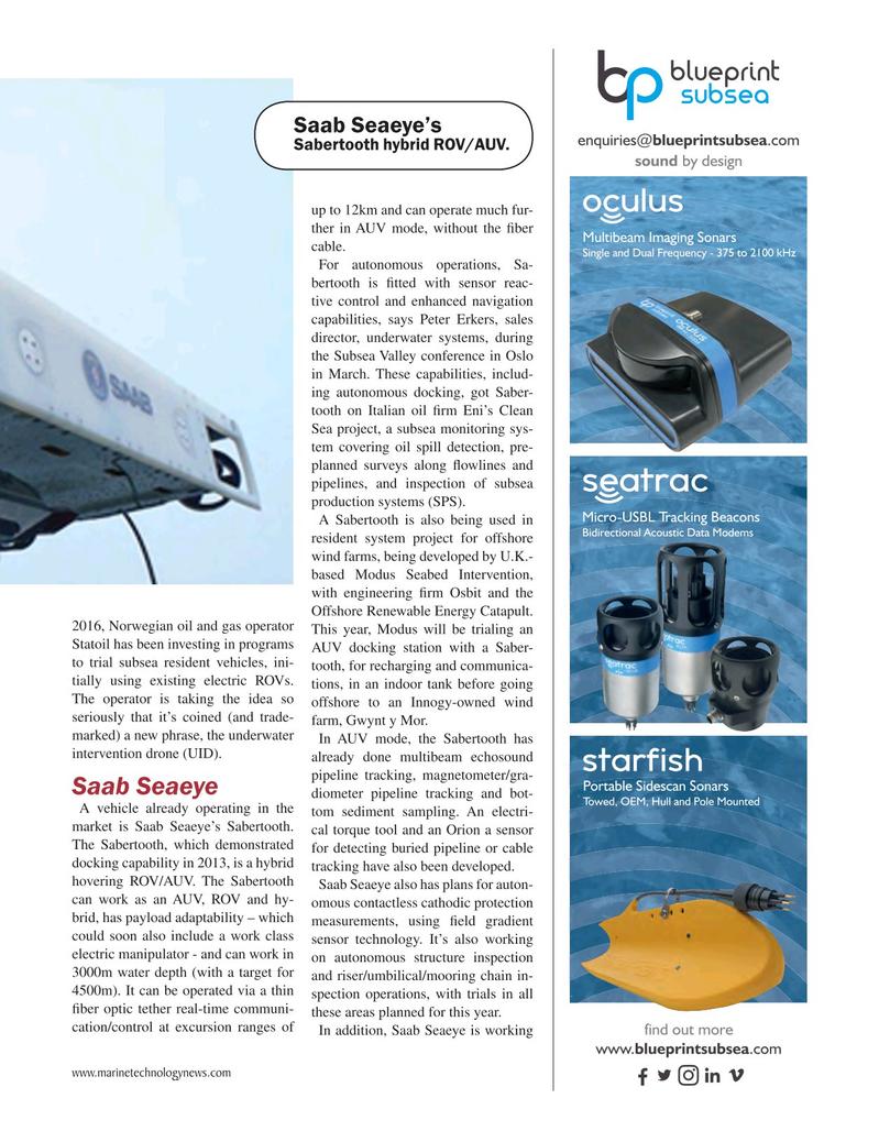 Marine Technology Magazine May 2018, 37 page