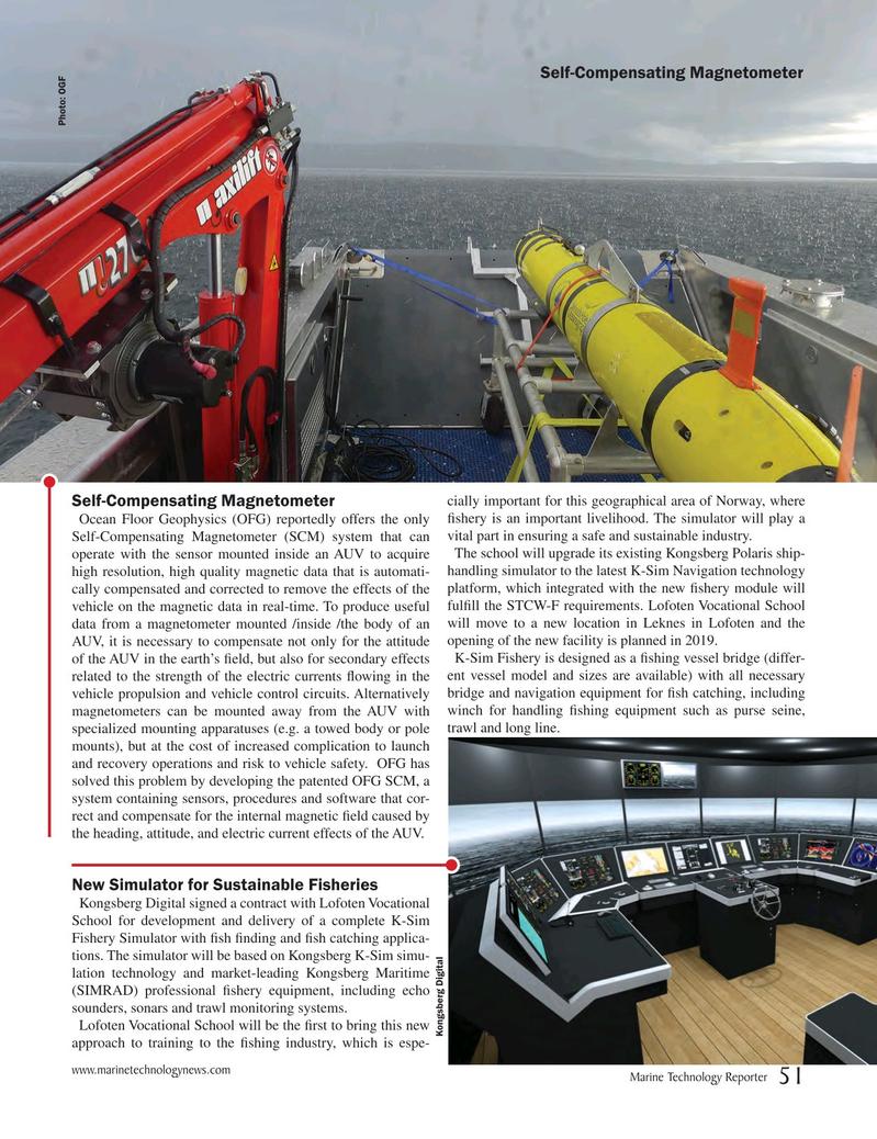Marine Technology Magazine, page 51,  May 2018