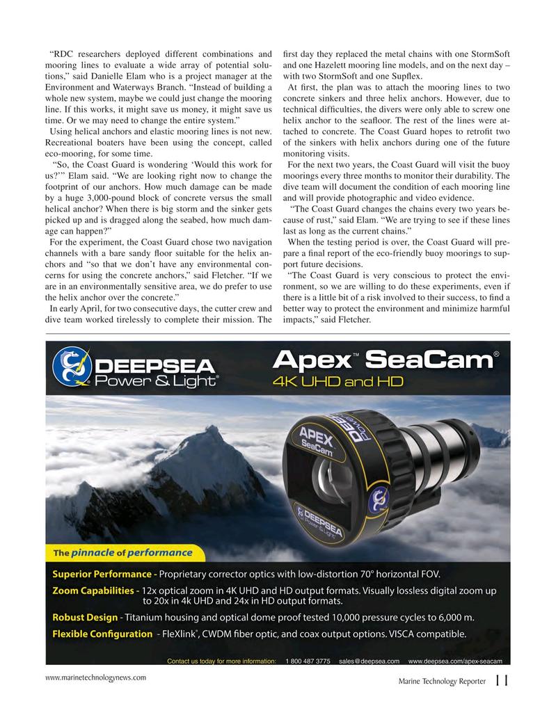 Marine Technology Magazine, page 11,  Jun 2018