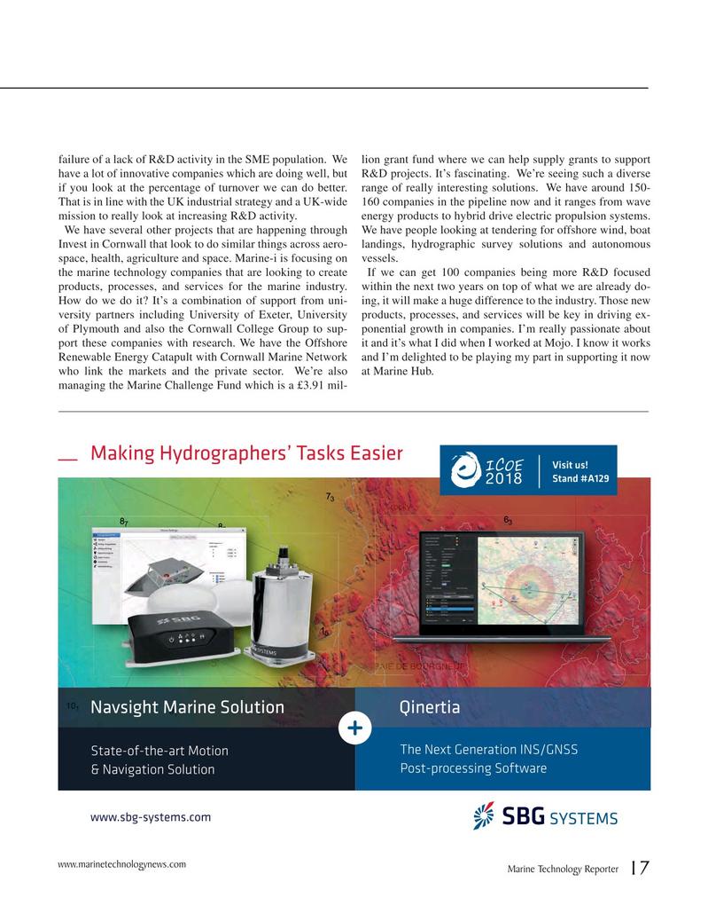 Marine Technology Magazine, page 17,  Jun 2018