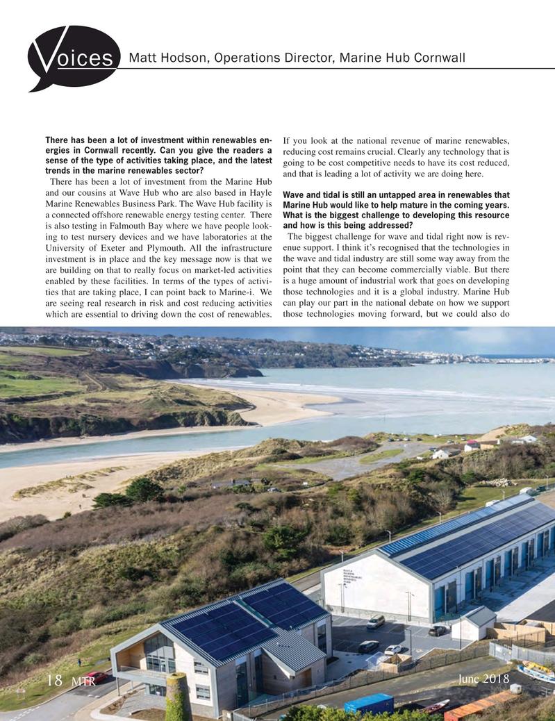 Marine Technology Magazine, page 18,  Jun 2018