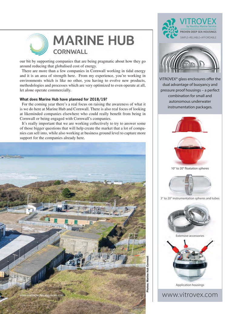 Marine Technology Magazine, page 19,  Jun 2018