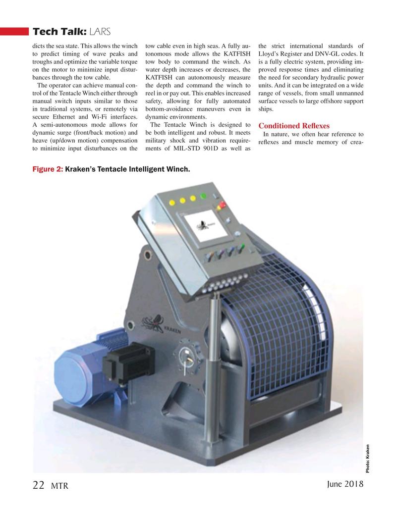 Marine Technology Magazine, page 22,  Jun 2018