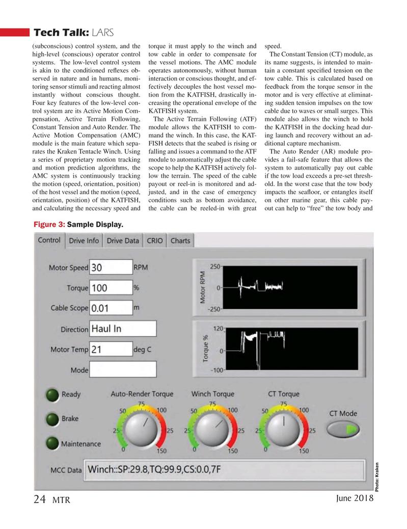 Marine Technology Magazine, page 24,  Jun 2018