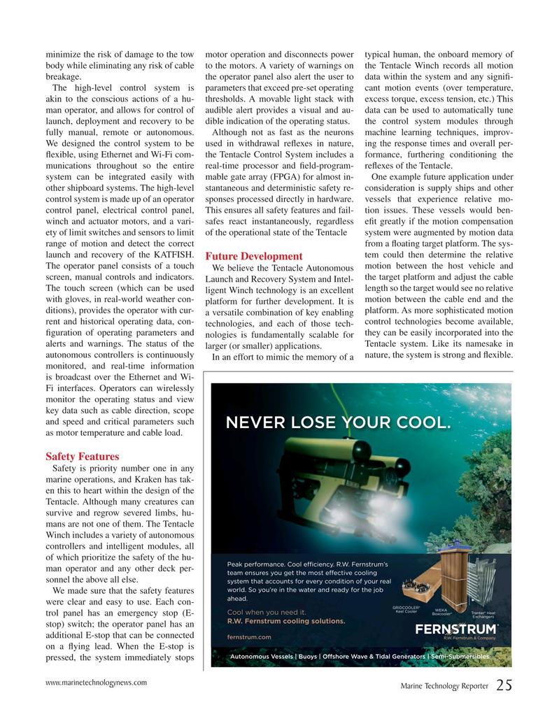 Marine Technology Magazine, page 25,  Jun 2018