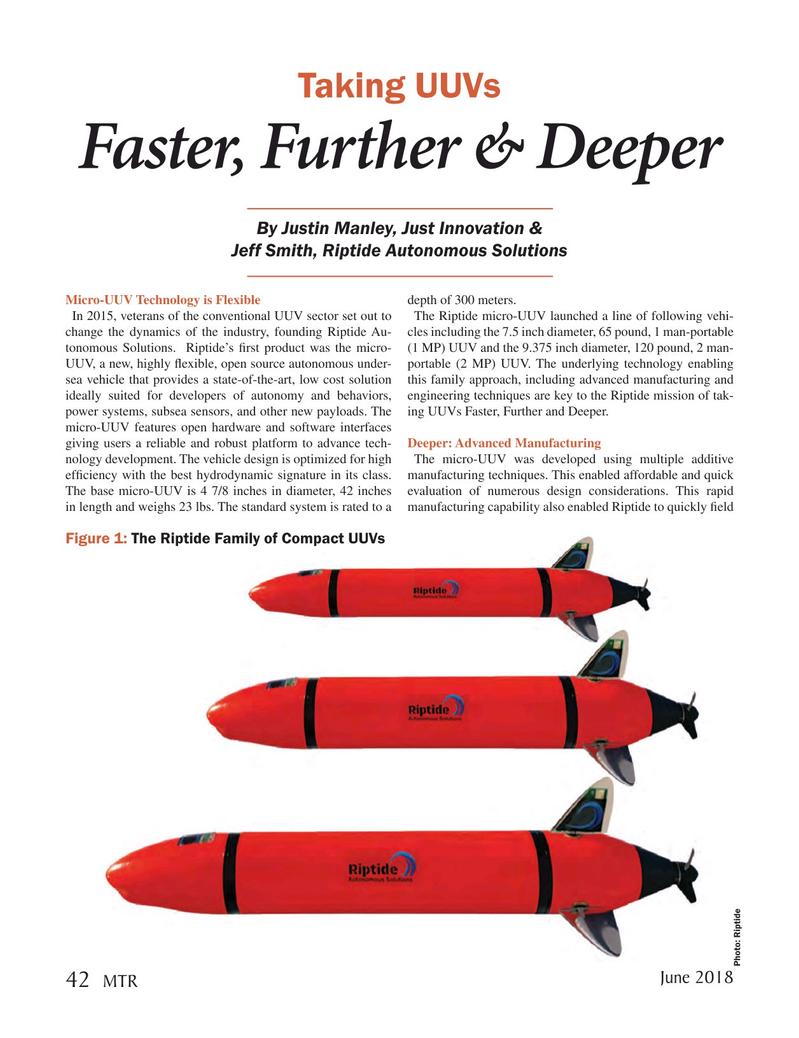 Marine Technology Magazine, page 42,  Jun 2018