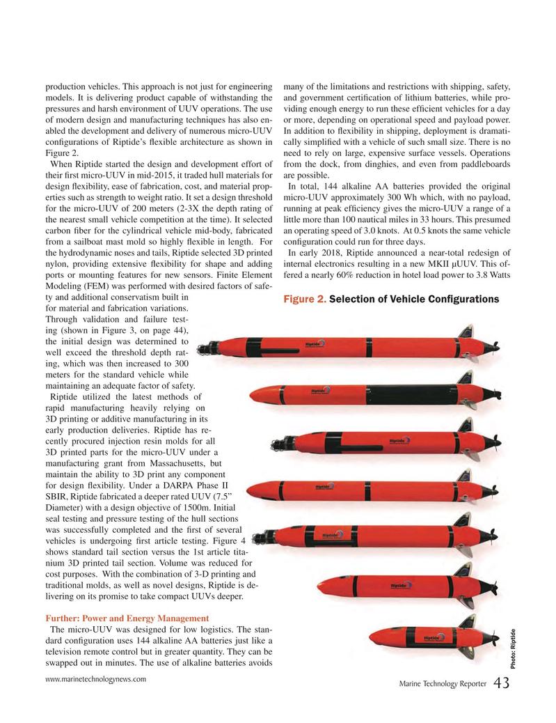 Marine Technology Magazine, page 43,  Jun 2018