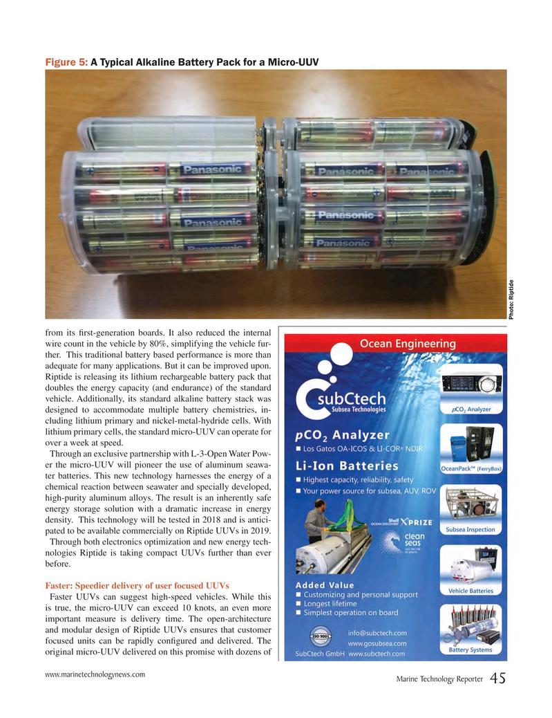Marine Technology Magazine, page 45,  Jun 2018