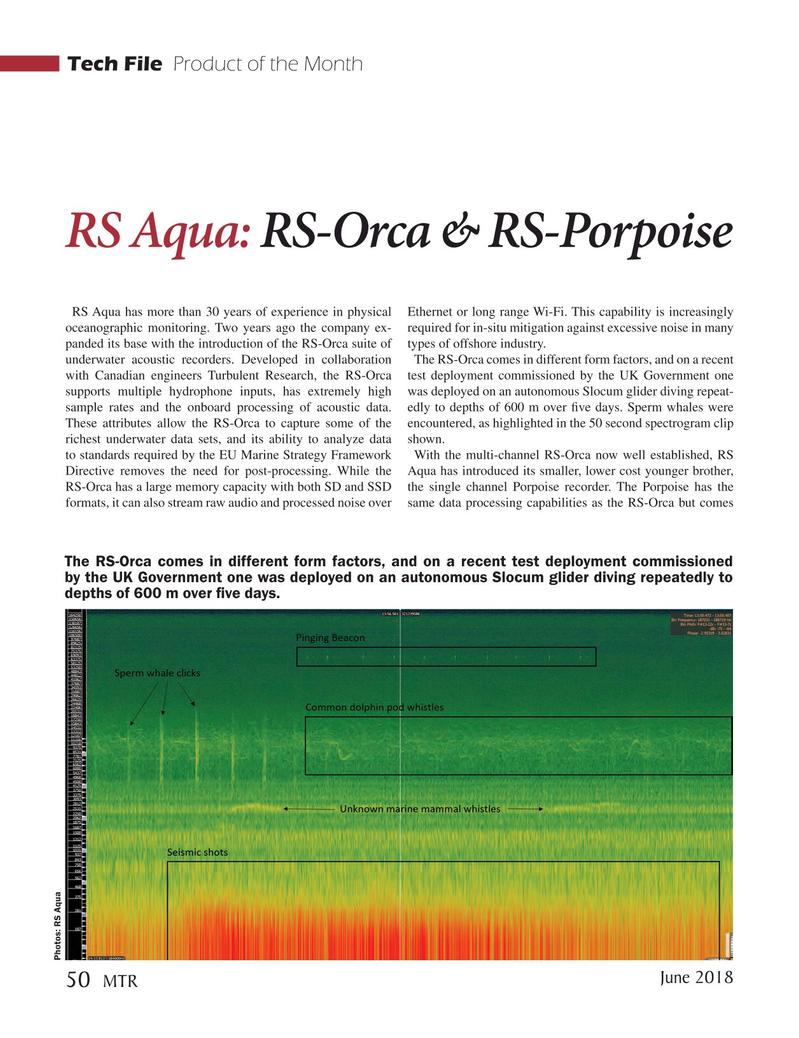Marine Technology Magazine, page 50,  Jun 2018