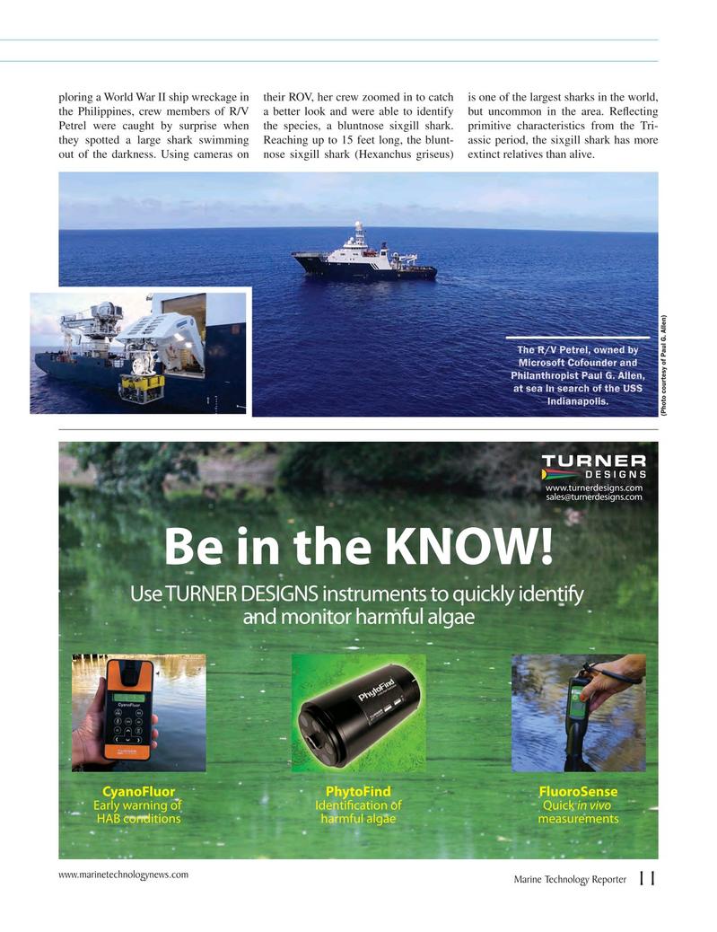 Marine Technology Magazine, page 11,  Jul 2018