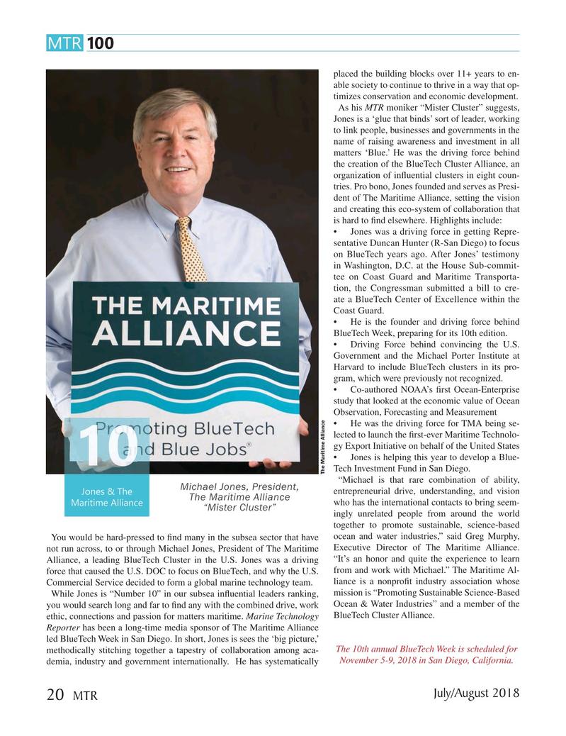 Marine Technology Magazine, page 20,  Jul 2018
