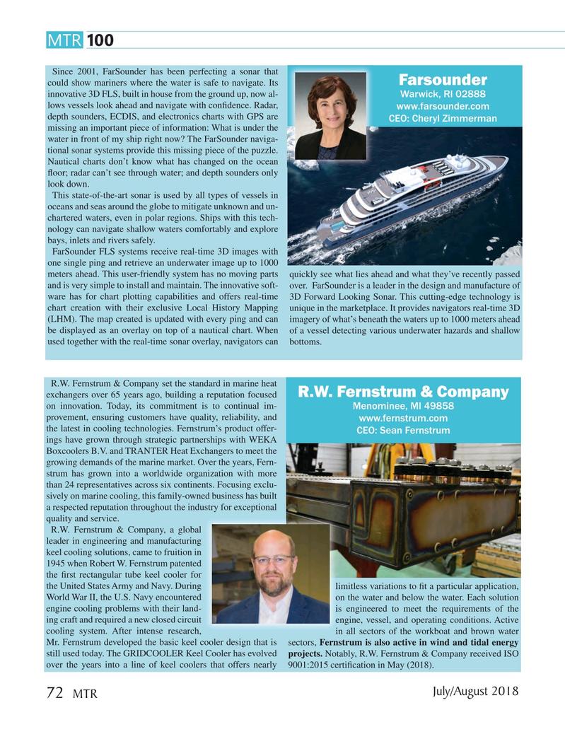 Marine Technology Magazine, page 72,  Jul 2018