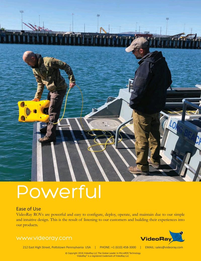 Marine Technology Magazine, page 2nd Cover,  Oct 2018