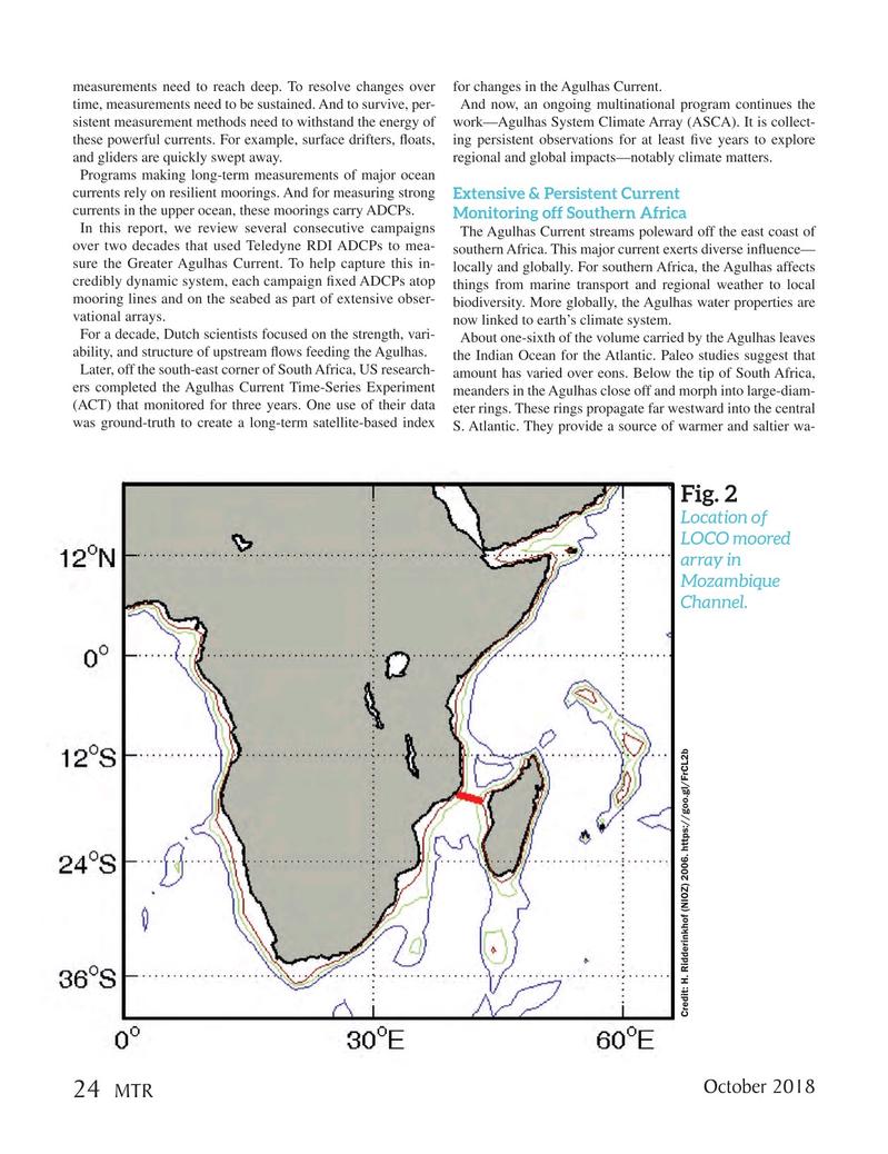 Marine Technology Magazine, page 24,  Oct 2018