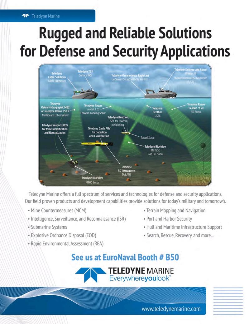 Marine Technology Magazine, page 1,  Oct 2018
