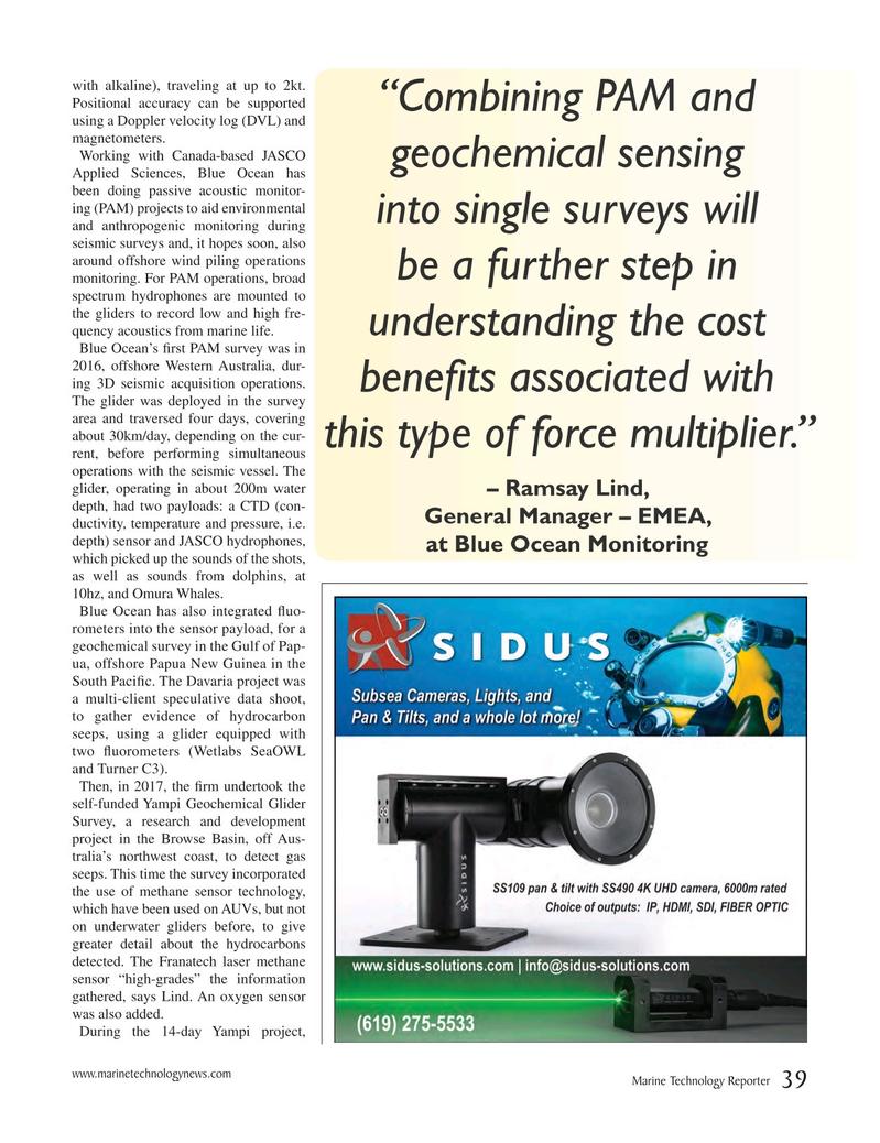 Marine Technology Magazine, page 39,  Oct 2018