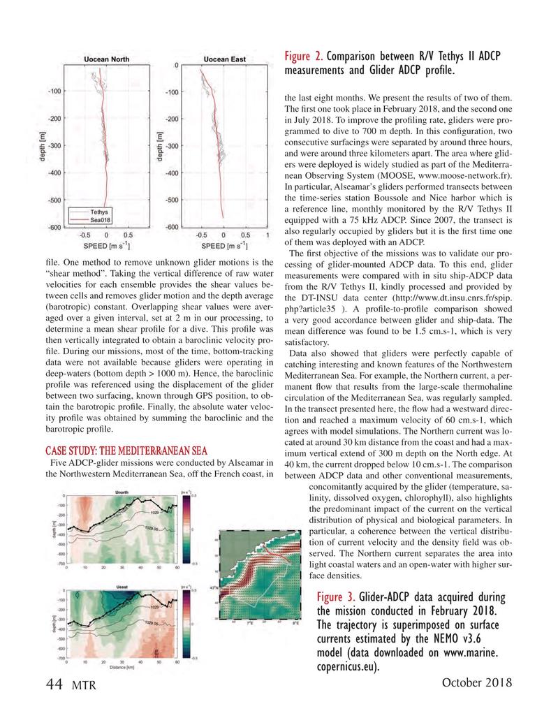Marine Technology Magazine, page 44,  Oct 2018
