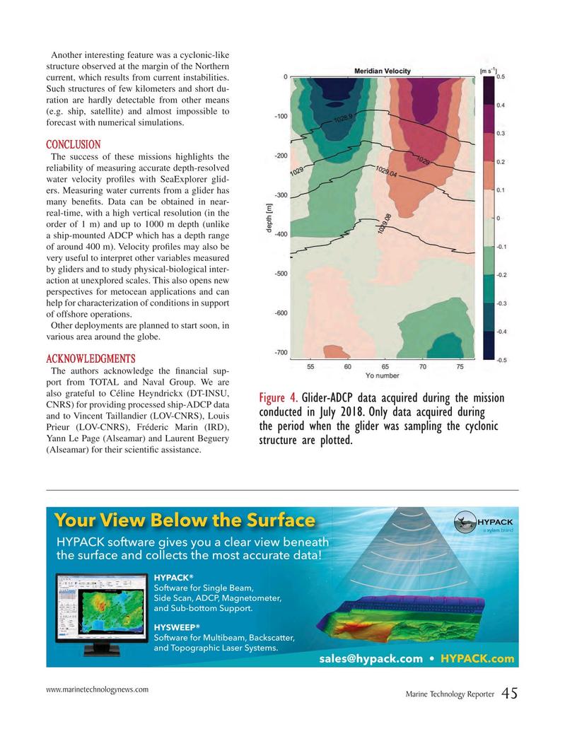 Marine Technology Magazine, page 45,  Oct 2018