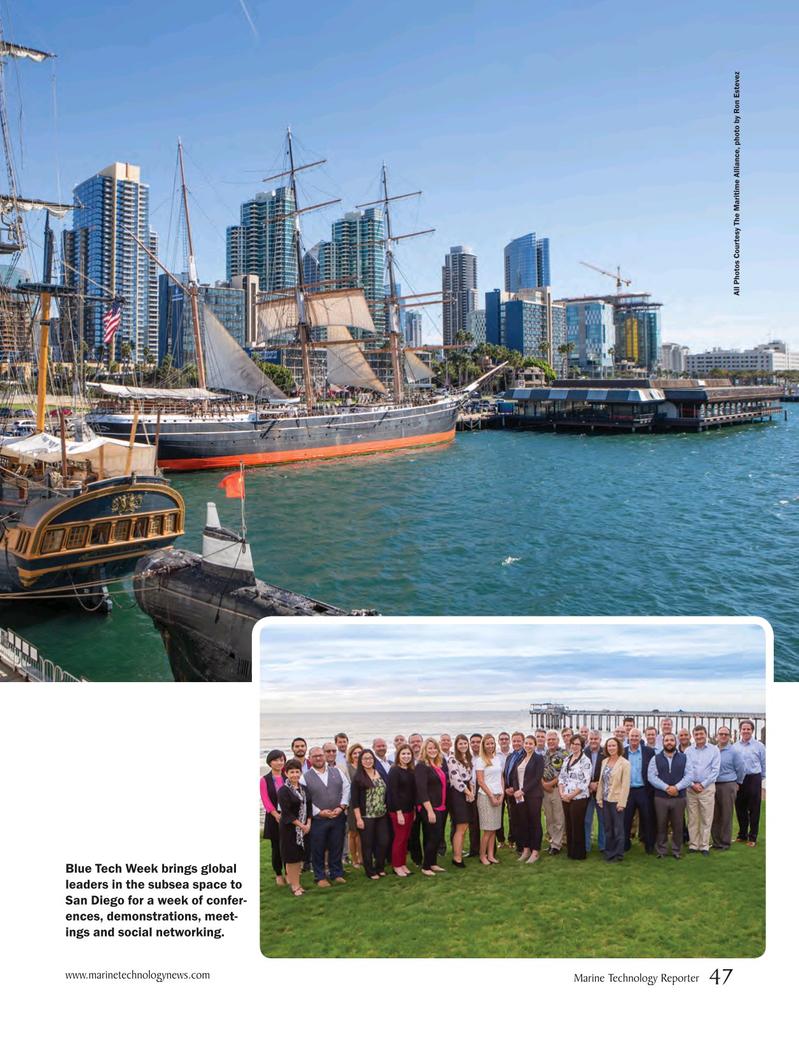 Marine Technology Magazine, page 47,  Oct 2018