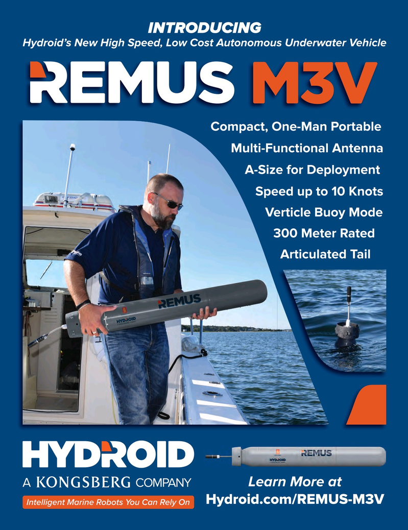 Marine Technology Magazine, page 3,  Oct 2018