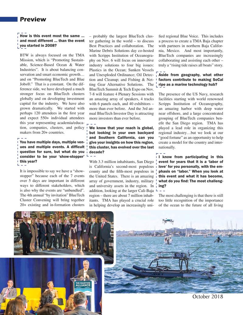 Marine Technology Magazine, page 48,  Oct 2018