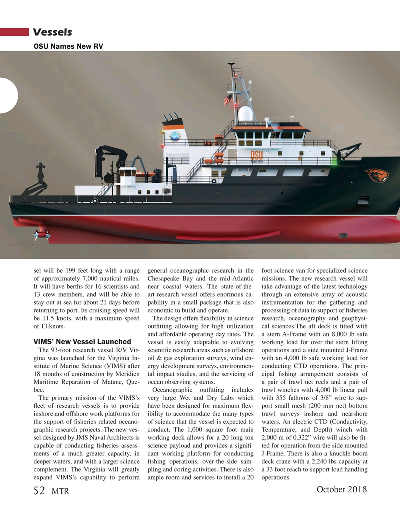 Marine Technology Magazine, page 52,  Oct 2018