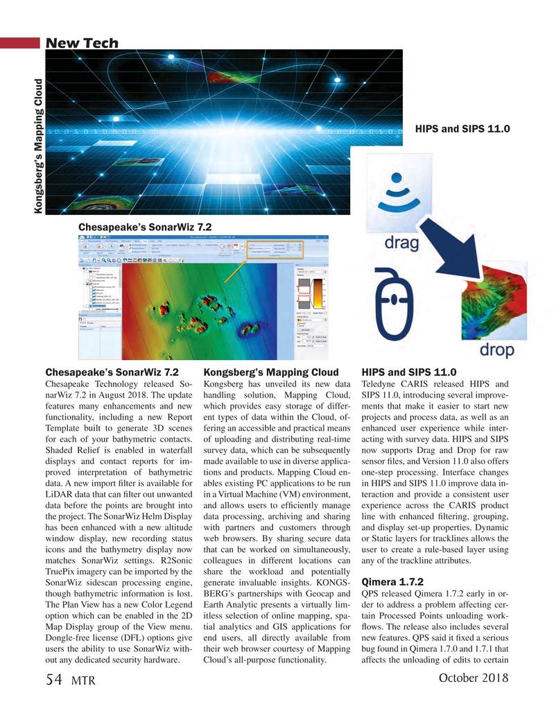 Marine Technology Magazine, page 54,  Oct 2018