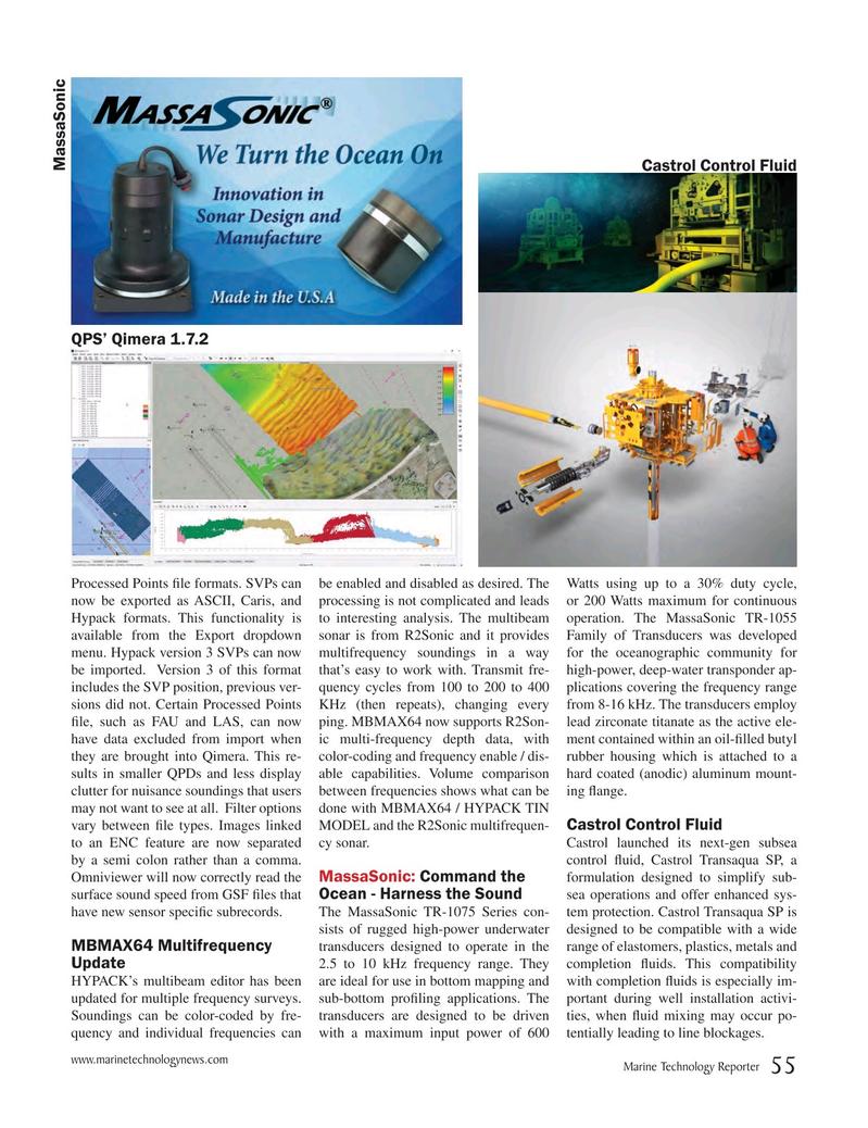 Marine Technology Magazine, page 55,  Oct 2018