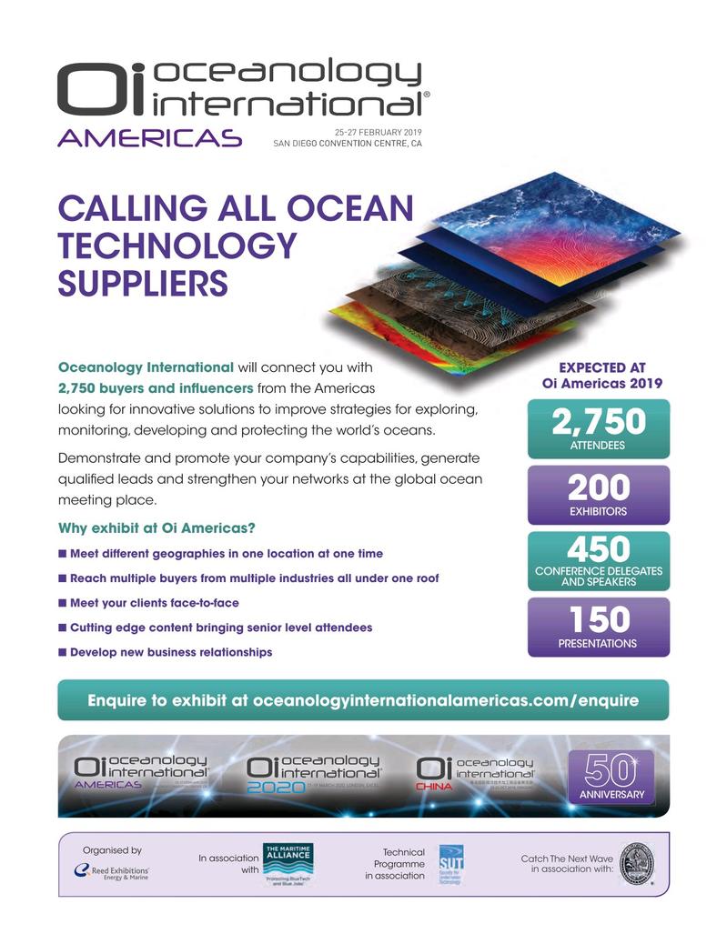 Marine Technology Magazine, page 57,  Oct 2018