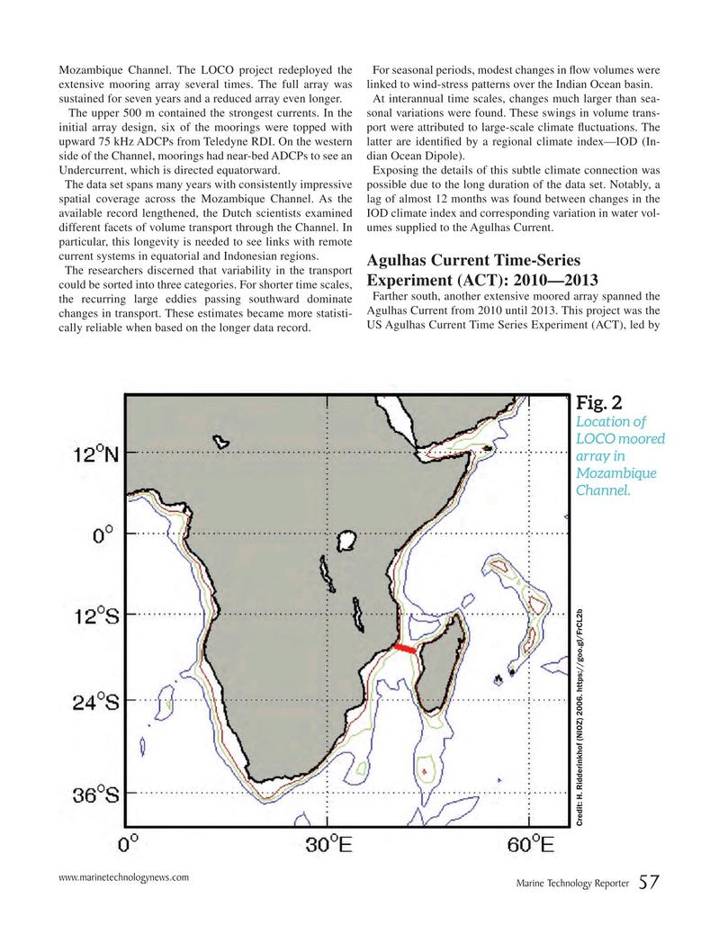Marine Technology Magazine, page 57,  Nov 2018