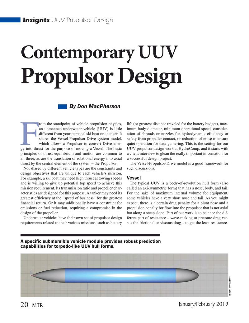 Marine Technology Magazine, page 20,  Jan 2019