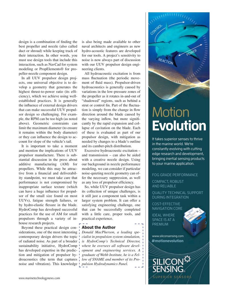 Marine Technology Magazine, page 23,  Jan 2019