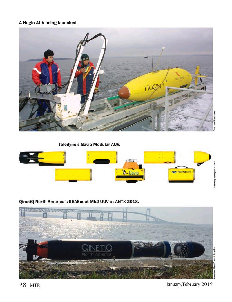 Marine Technology Magazine, page 28,  Jan 2019