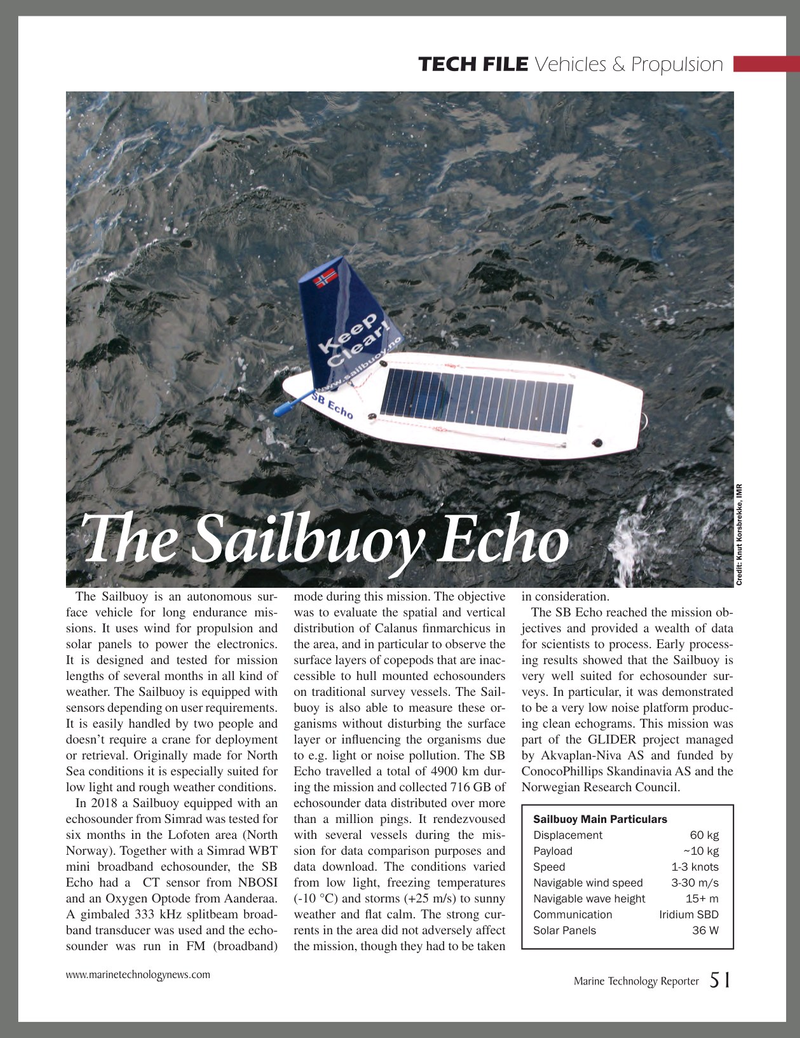 Marine Technology Magazine, page 51,  Jan 2019