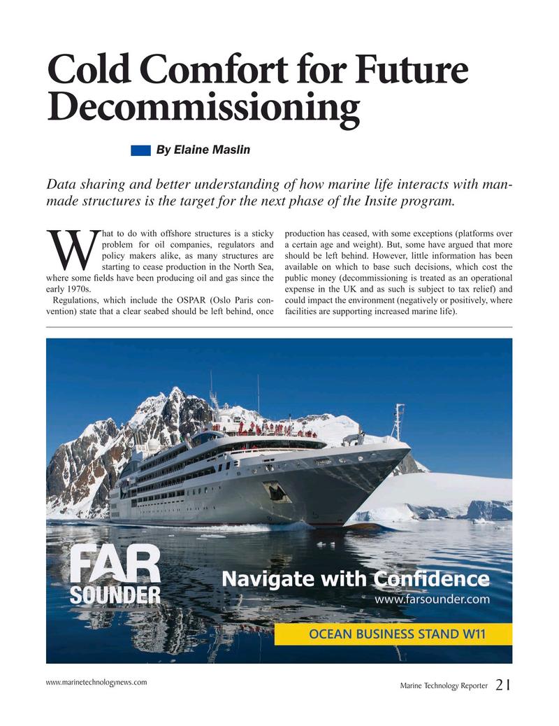 Marine Technology Magazine, page 21,  Mar 2019
