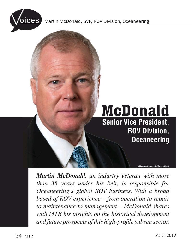 Marine Technology Magazine, page 34,  Mar 2019