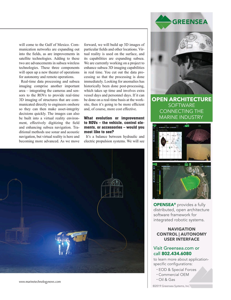 Marine Technology Magazine, page 37,  Mar 2019