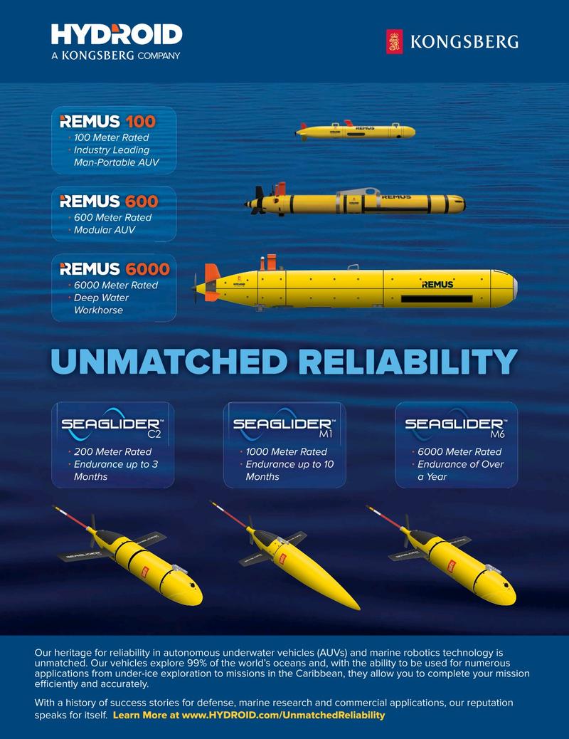 Marine Technology Magazine, page 40,  Mar 2019