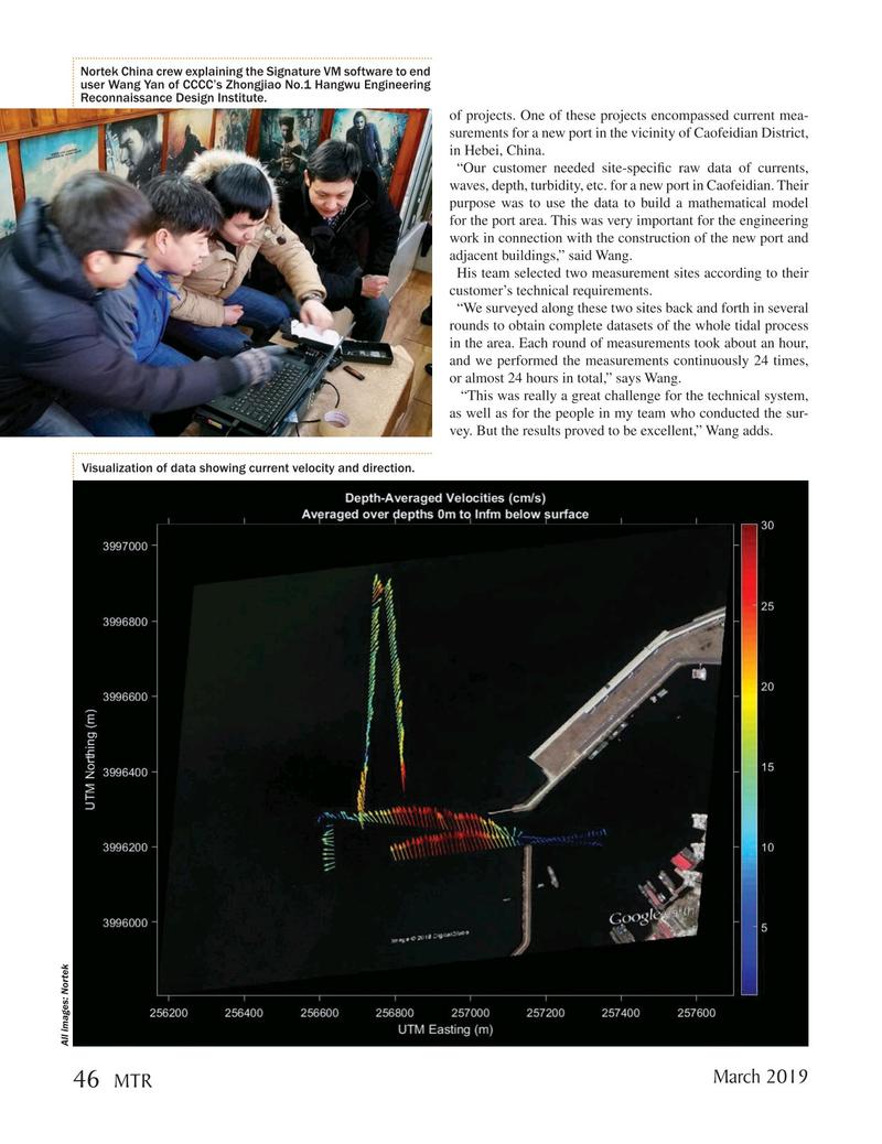 Marine Technology Magazine, page 46,  Mar 2019