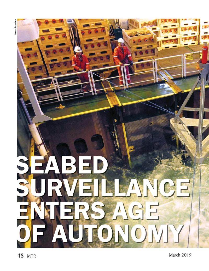 Marine Technology Magazine, page 48,  Mar 2019