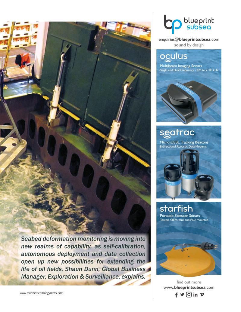 Marine Technology Magazine, page 49,  Mar 2019
