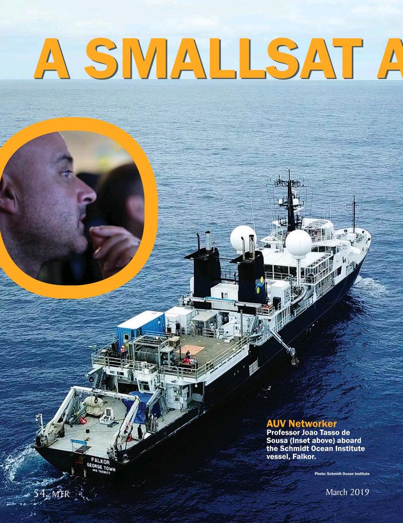 Marine Technology Magazine, page 54,  Mar 2019