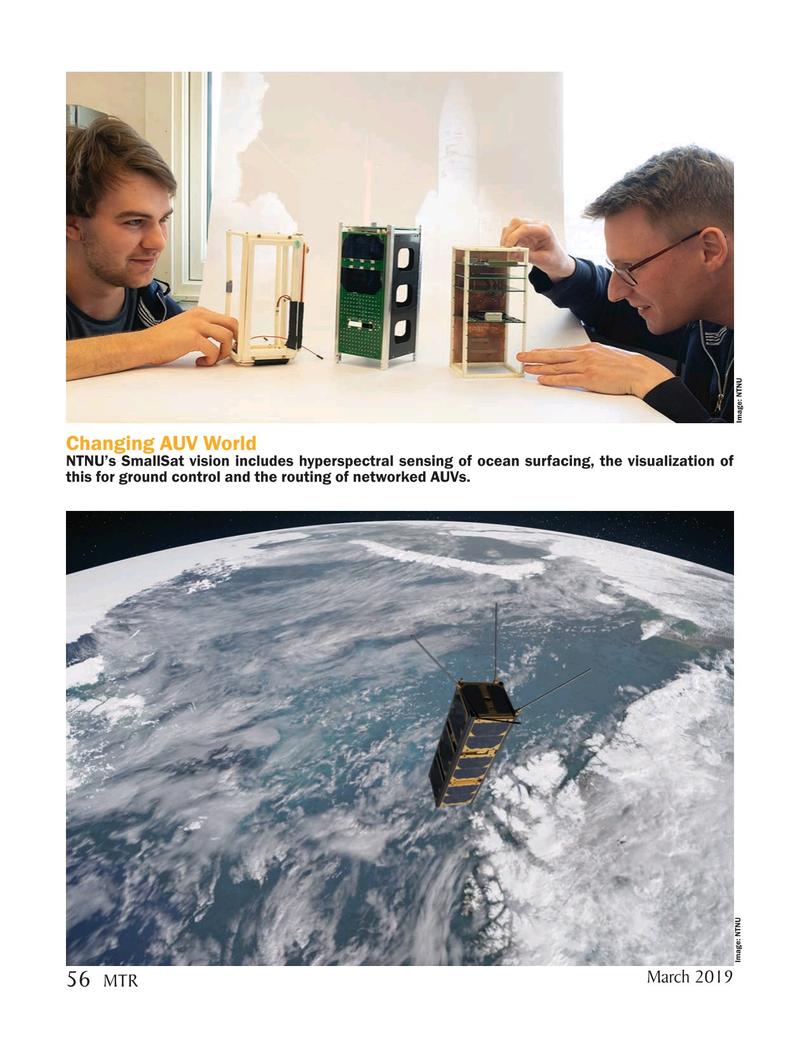 Marine Technology Magazine, page 56,  Mar 2019