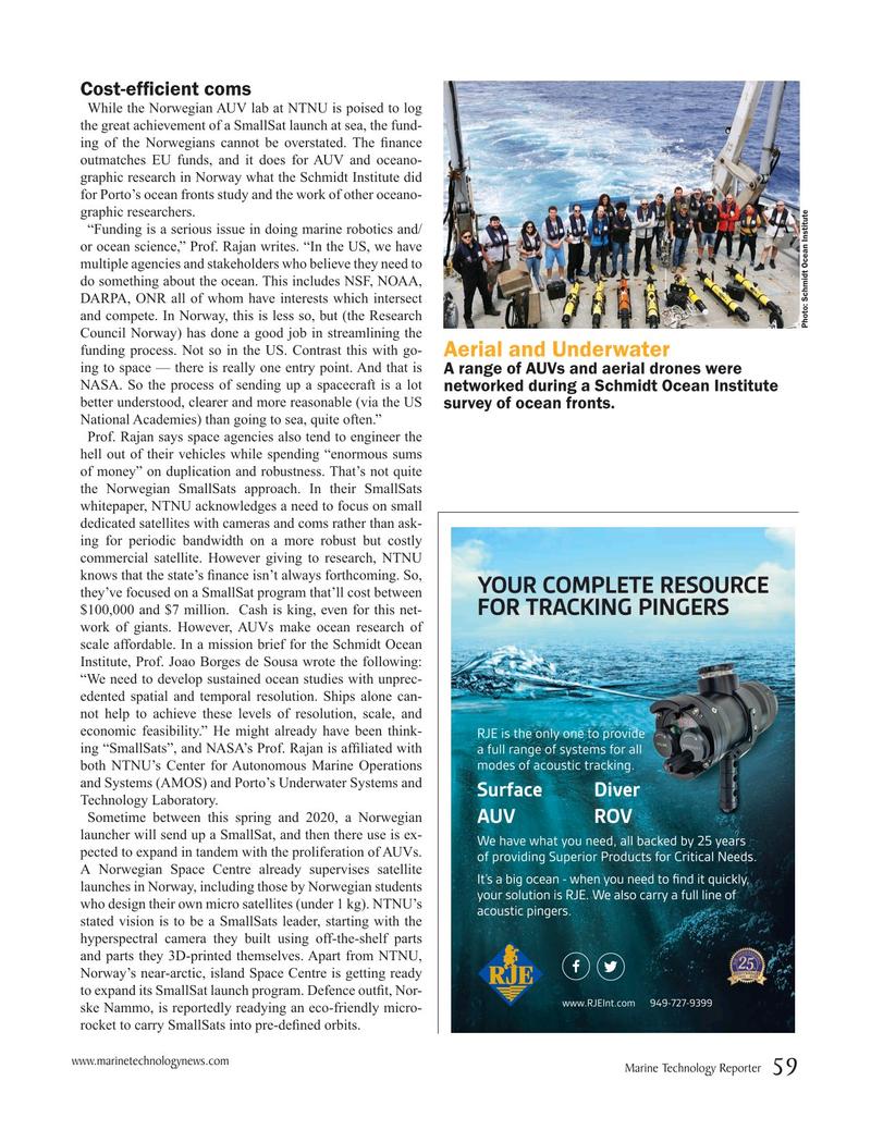 Marine Technology Magazine, page 59,  Mar 2019