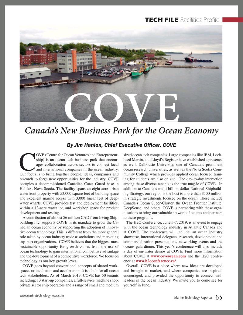 Marine Technology Magazine, page 65,  Mar 2019