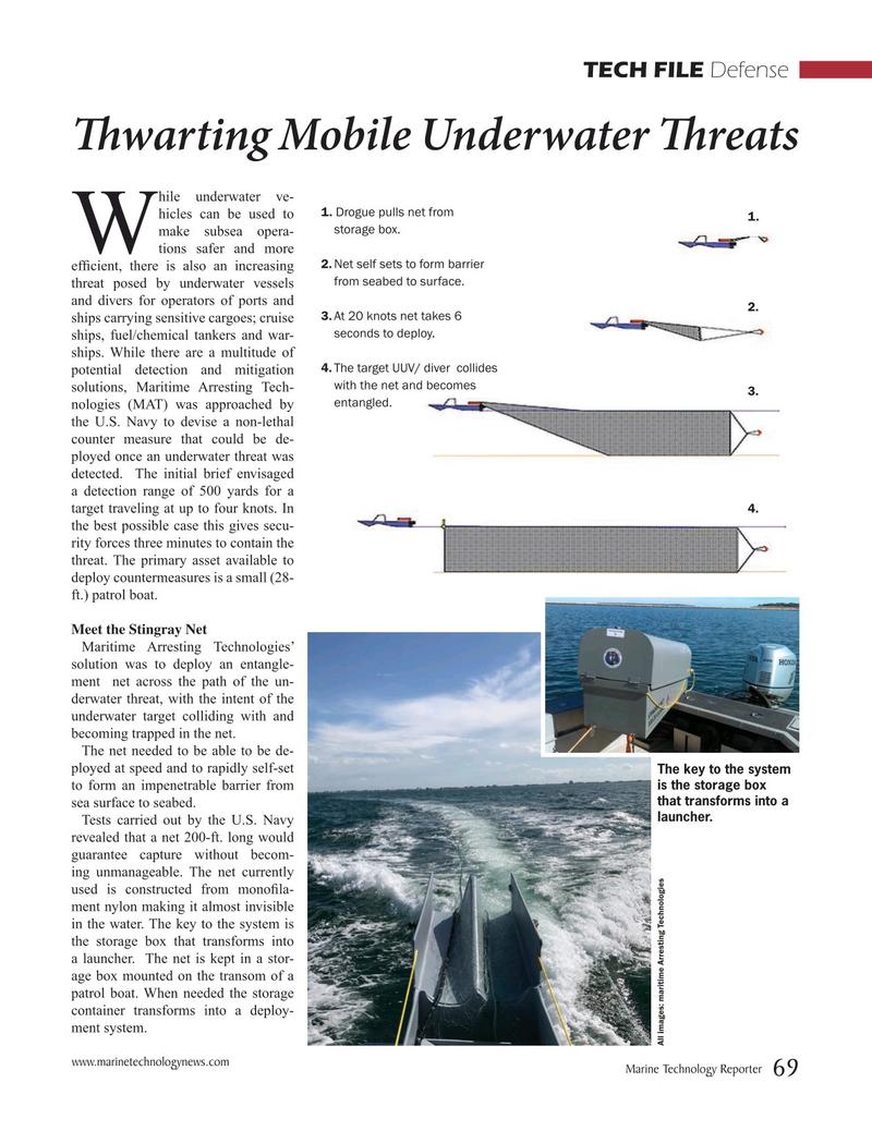 Marine Technology Magazine, page 69,  Mar 2019
